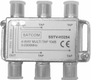 SSTV-H3284/10 4-Ways UBB TapSSTV-H328 Series, SATCOM 4 Ways UBB TAP (5-2300MHz)