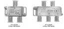 STV224*AR, SATCOM UBB Splitter, 5-2300 MHz