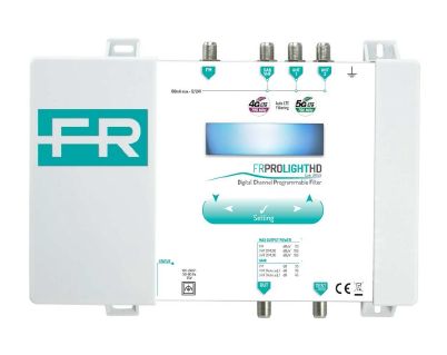 FRPROLIGHTHD, Digital TV programmable profiler